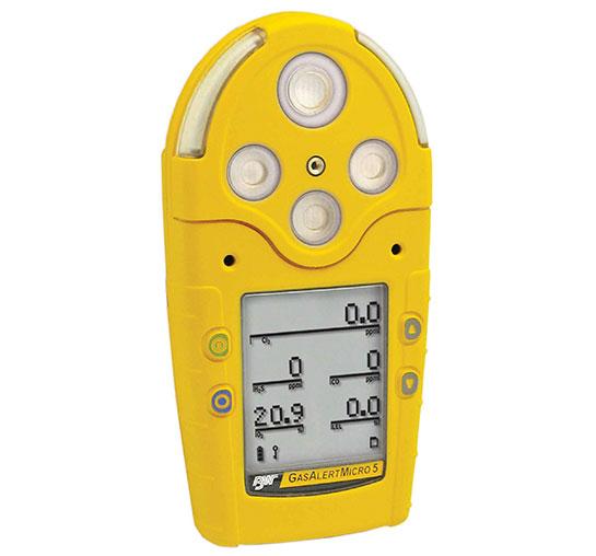 GasAlertMicro 5 Series Multi-Gas Detector