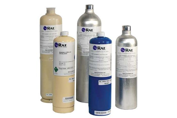 RAE Calibration Gases